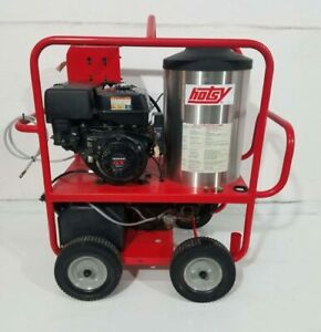 Used Hotsy 1075sse Gas diesel 4gpm 3500psi Hot Water Pressure Washer 102 Hours