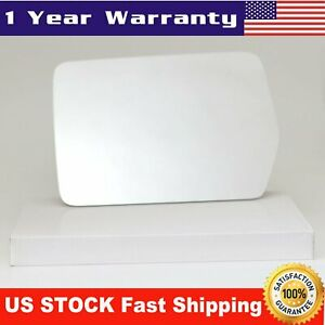 Mirror Glass Left Driver Side Full Adhesive For 2004 2010 Ford F150 Pickup Truck