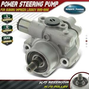 Power Steering Pump W o Pulley For Subaru Impreza Legacy H4 2 2l 2 5l 34411aa432
