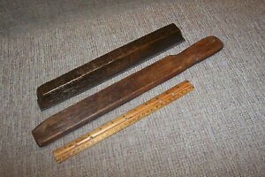 2 Old Wooden Auto Body Files Vintage Car Truck Fender Repair Tools