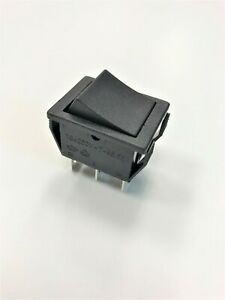 Philmore 30 10082 Power Rocker Switch Dpdt On on 16a 125vac 10a 250vac