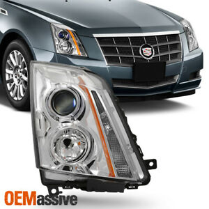 Fits 2008 2014 Cadillac Cts Right Passenger Side Projector Headlight Light 08 14