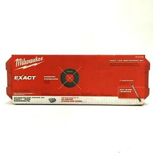 Milwaukee Exact 1 3 8 Inch Sink Ratchet Knockout Set 49 16 2702