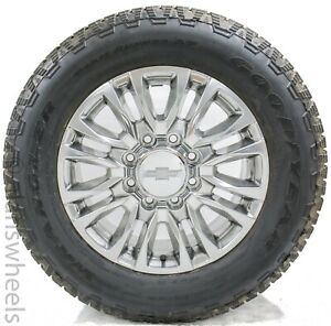 2020 Chevy Silverado Gmc Sierra 2500 3500 Hd 8 Lug 20 Polish Wheels Rims Tires