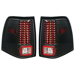 New Black Led Tail Light Set For 2003 2006 Ford Expedition Fo2800166 Fo2801166