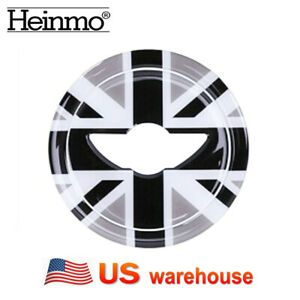 Union Jack Steering Wheel Sticker For Mini Cooper R55 R56 R57 R58 R59 R60 R61