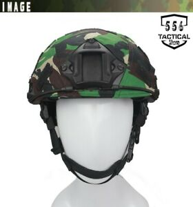 Tactical Hunting FAST Camo Helmet Cover Gear Paintball CS Helmet Cover Outdoor $5.00