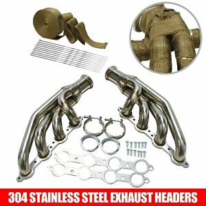 For 97 14 Chevy Small Block V8 Ls1 Ls2 Ls3 Ls6 Lsx Turbo Manifold Exhaust Header