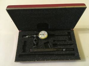 Starrett Last Word Dial Indicator 711 Attachments Accurate Clean Excellent