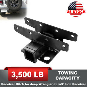 Receiver Hitch W 2 Inch Receiver Tow Hitch For Jeep Wrangler Jl 2 Door