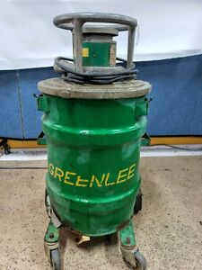 Greenlee 690 Blower Vacuum Fish System Good Clean
