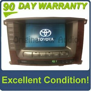 2004 2005 2006 2007 Toyota Land Cruiser Oem Pioneer Navigation Display Screen
