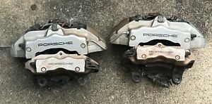 2004 2010 Porsche Cayenne Right Left Front Rear 4 Set Brembo Brake Calipers 18zl
