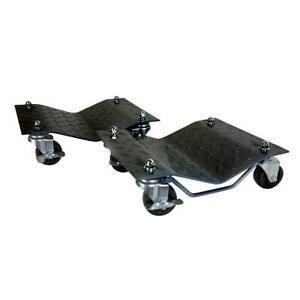 Car Dolly Under Vehicle Tire Skates With Heavy Duty Roller Wheel Casters By P