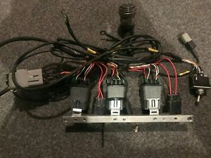 Porsche 997 Gt3 Cup Fuel Safe fuel Cell Wiring Harness W switch