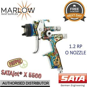 Sata Jet X 5500 Rp Hippie Limited Edition Digital 1 2mm O Nozzle Spray Gun