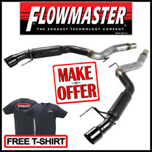 Flowmaster Outlaw Axle back 3 Exhaust System 2015 2017 Ford Mustang Gt 5 0l