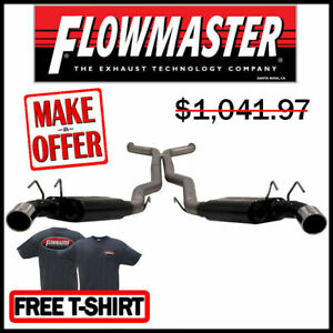 Flowmaster 817481 10 13 Chevy Camaro Ss V8 3 Cat back Exhaust System Stainless