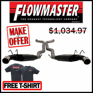 Flowmaster 817609 2013 2015 Chevy Camaro Ss Zl1 3 Cat back Exhaust System 409s