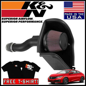 K N Aircharger Cold Air Intake System Fits 2016 2020 Honda Civic 1 5l L4