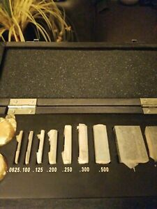 Fowler Micrometer Calibration Sets With Optical Flats 53 670 002