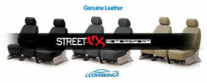 Coverking Genuine Leather Custom Seat Covers For 2002 2005 Acura Rsx