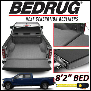 Bedrug Impact Liner Bed Mat For 2017 2019 Ford F 250 F 350 W 8 Ft 2 In Bed