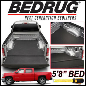 Bedrug Bedtred Impact Liner Bed Mat 2007 2018 Chevy Silverado 1500 W 5 8 Bed