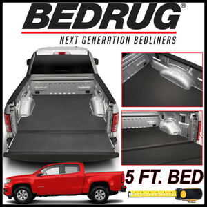 Bedrug Bedtred Impact Bed Liner Mat Fit 2015 2020 Chevy Colorado With 5 Ft Bed