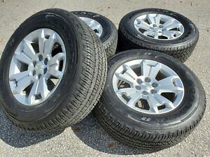 Chevrolet Colorado Wheels Tires Goodyear Set Factory Oem R28 Z71 Gm Gmc Canyon