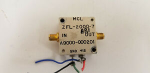 Mini circuits Zfl 2000 7 Rf Amplifier