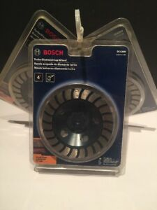 Bosch Turbo Diamond Cup Wheel 4 Dc430m