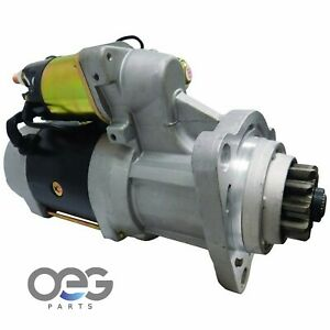 New Starter For Delco 39mt 24 Volt Cummins Isx Ism Engines 10461756