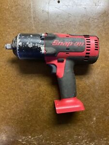 Snap On Ct8850 18 Volt 1 2 Drive Lithium Ion Cordless Impact Wrench Gun Nice