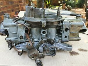 Original Ford Mustang Cobra Jet 428 Holley Carburetor Cs9af 9510 U