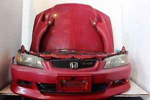 Jdm Front End Conversion Honda Accord Euro R 98 02 Complete Front Oem Parts Red