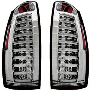 New Smoked Led Tail Light Set For 07 13 Chevrolet Avalanche Gm2800222 Gm2801222