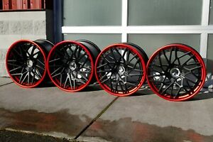 Lamborghini Aventador Velos D7 3 Piece Forged Wheels