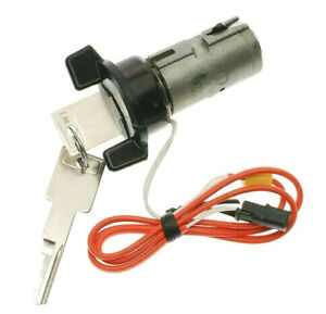 Black Bezel Ignition Lock Cylinder With 2 Keys For Chevy Olds
