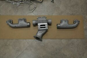 1933 35 Buick 60 Series 3pc Exhaust Manifold