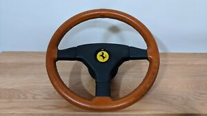 Ferrari Steering Wheel 11 97 1997 Tan Brown Leather Wrap