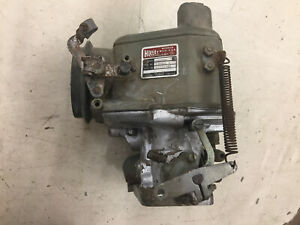 Holley Two Barrel Carburetor Model Ffg 885 List R 939 2 For 1954 Ihc With 406