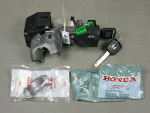 03 05 Honda Civic Auto Ignition Lock Cylinder Switch With 2 Keys 2 New Bolts
