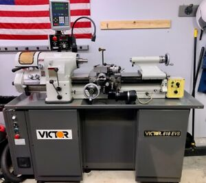 Victor 6 X 18 Electronic Variable Speed Toolroom Lathe 618evs