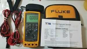Used Fluke 789 Process Meter With Calibration Certification And More 239596