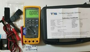 Used Fluke 789 Process Meter With Calibration Certification And More 239616