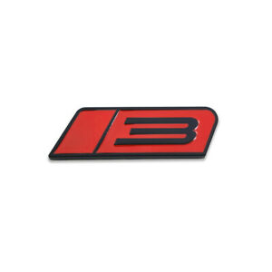 Black Red Roush Stage 3 Emblem 3d Badge Metal Sticker Sport Decal For Mustang Gt