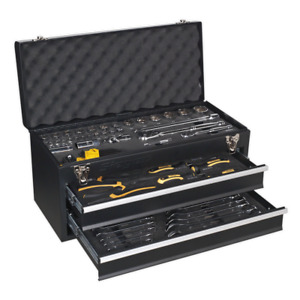 Sealey Portable Tool Chest 2 Drawer With 90pc Tool Kit S01055