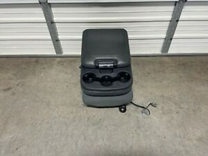 2013 2018 Dodge Ram 1500 2500 3500 Center Jump Seat Console Grey Cloth