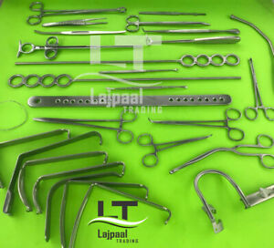 Tonsillectomy Set Of 27 Pcs Surgical Orthopedic Instruments Grade A Stainless